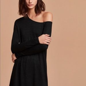 Aritzia Wilfred Free Brinkley Dress- Black- S